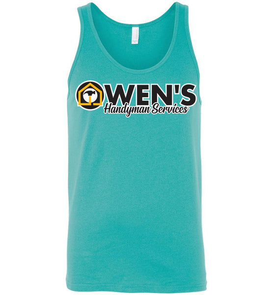 Owen's Handyman Services - Canvas Unisex Tank