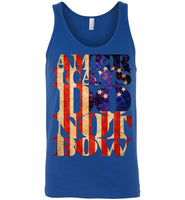 Americans Do Not Bow - Canvas Unisex Tank
