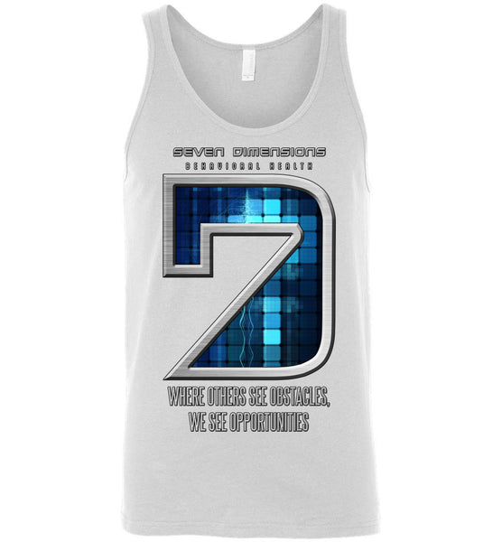 Seven Dimensions: Technomancer - Canvas Unisex Tank