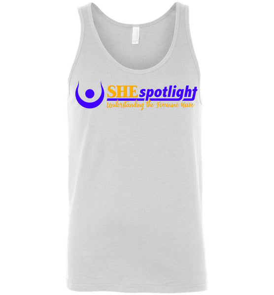 SHE Spotlight - Canvas Unisex Tank