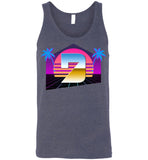 Seven Dimensions - Hot Retro - Canvas Unisex Tank
