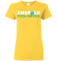 Emerald Pool Service - Gildan Ladies Short-Sleeve