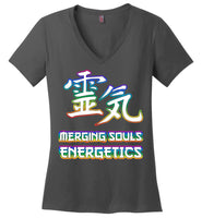 Merging Souls Energetics: District Made Ladies Perfect Weight V-Neck