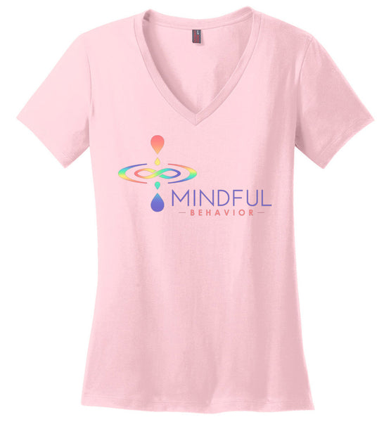 Mindful Behavior Classic - Ladies Perfect Weight V-Neck