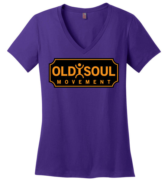 Old Soul Movement: Boiler - District Made Ladies Perfect Weight V-Neck