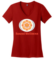 SoundWellness - District Made Ladies Perfect Weight V-Neck