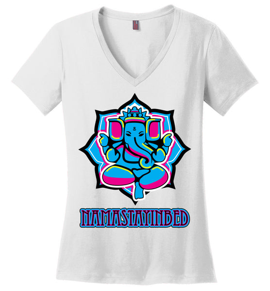 Namastayinbed - Ladies Perfect Weight V-Neck