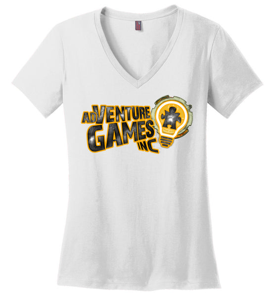 Adventure Games Inc: Lifestyle: District Made Ladies Perfect Weight V-Neck