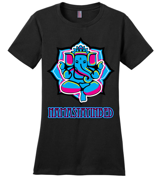 Namastayinbed - Ladies Perfect Weight Tee