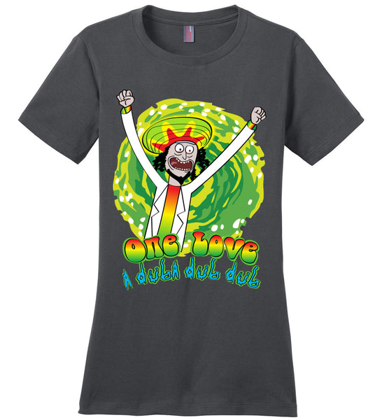 One Love A Duba Dub Dub! - Ladies Perfect Weight Tee