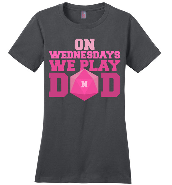 On Wednesdays We Play DnD -District Made Ladies Perfect Weight Tee