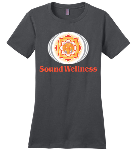 SoundWellness - District Made Ladies Perfect Weight Tee