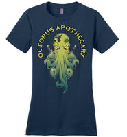 Octopus Apothecary: Sarah Denny's Octopus - District Made Ladies Perfect Weight Tee