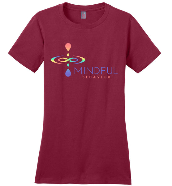 Mindful Behavior Classic - Ladies Perfect Weight Tee