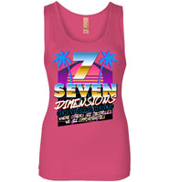 Seven Dimensions: Essential New Retro - Next Level Womens Jersey Tank