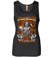 Octopus Apothecary - Old Time Shakespeare - Next Level Womens Jersey Tank