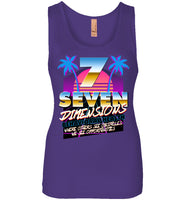 Seven Dimensions - Dorothy, New Retro - Next Level Womens Jersey Tank