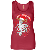 Octopus Apothecary - Krampoctopus - Next Level Womens Jersey Tank
