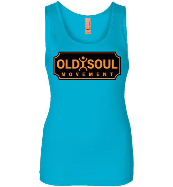 Old Soul Movement: Boiler - Next Level Womens Jersey Tank