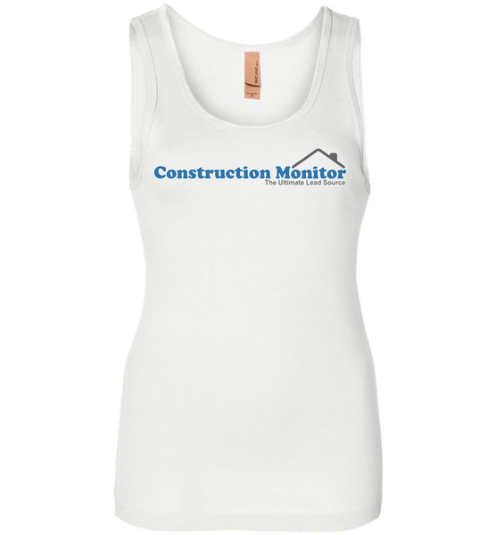 Construction Monitor - Next Level Womens Jersey Tank
