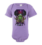 Octopus Apothecary: CTHULHU FOR AMERICA - Rabbit Skins Infant Fine Jersey Bodysuit