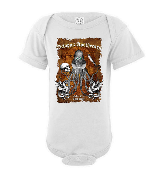 Octopus Apothecary - Old Time Shakespeare - Rabbit Skins Infant Fine Jersey Bodysuit