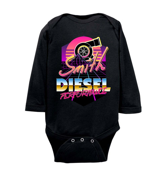 Smith Diesel - New Retro Turbo - Rabbit Skins Infant Long Sleeve Bodysuit