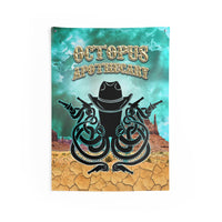 Octopus Apothecary - Spaghetti Western Indoor Wall Tapestries