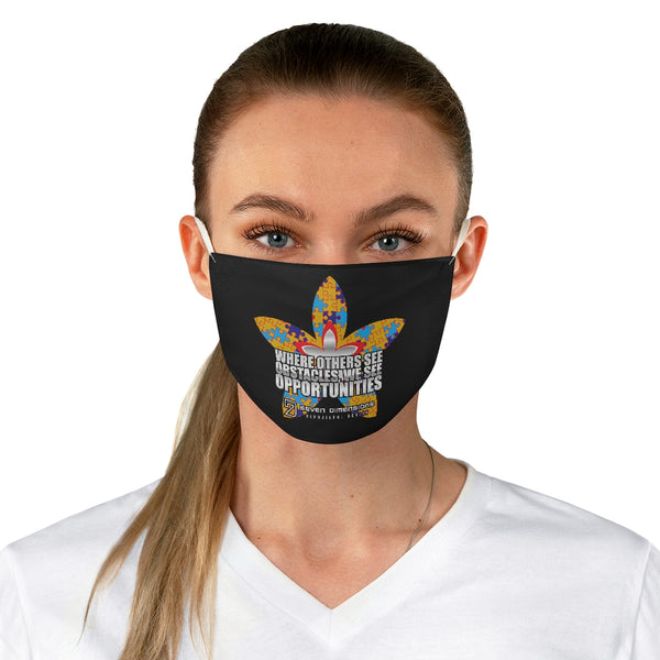 7 Dimensions Fabric Face Mask - 07