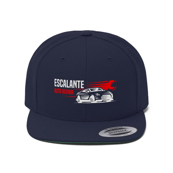Escalante Automotive - Unisex Flat Bill Hat