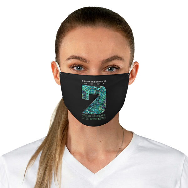 7 Dimensions Fabric Face Mask - 05