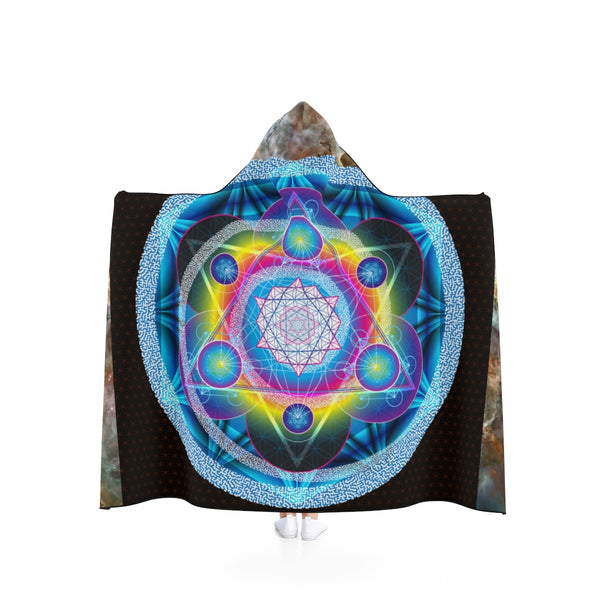 Gate 007: A Prosperity Induction Focal Device - Hooded Blanket