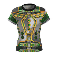 Undead Robot Leader: Women's AOP Cut & Sew Tee