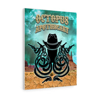 Octopus Apothecary - Western - Stretched canvas