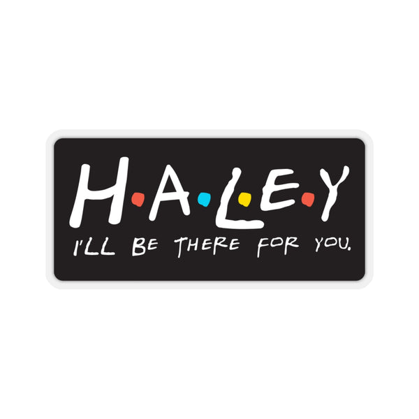 Haley - Kiss Cut Stickers