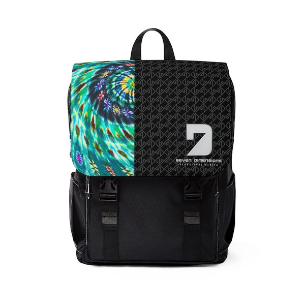 Seven Dimensions - Unisex Casual Shoulder Backpack - Essential