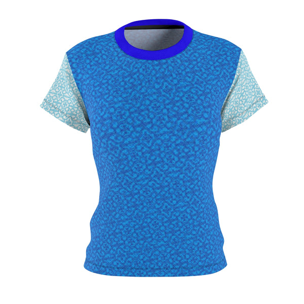 Shamanic.Love - Blue - Women's AOP Cut & Sew Tee