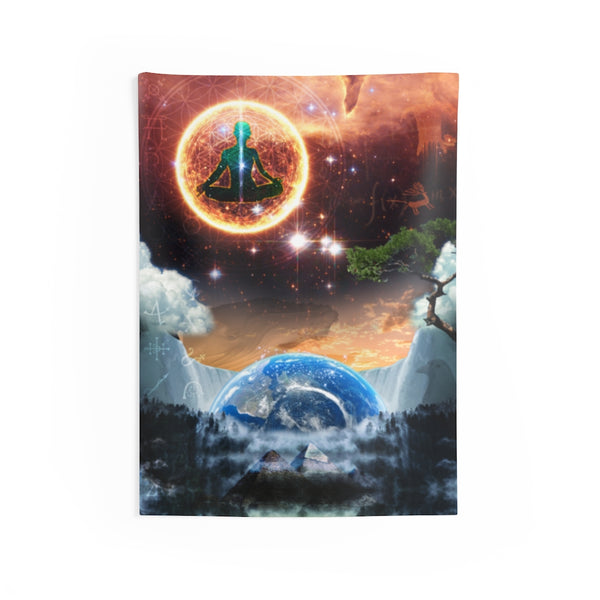 Institute of Modern Wisdom - Indoor Wall Tapestry