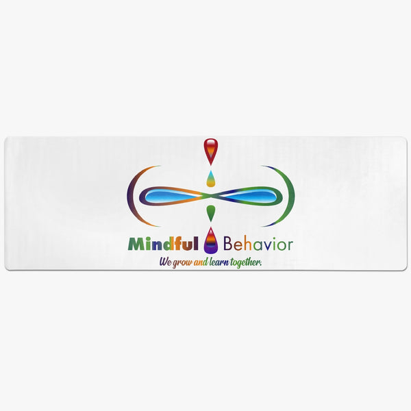 Mindful Behavior Premium Suede Anti-slip Yoga Mat