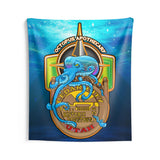 Octopus Apothecary - Nautical - Indoor Wall Tapestry