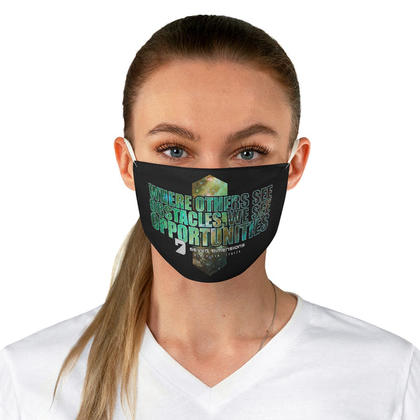 7 Dimensions Fabric Face Mask - 06