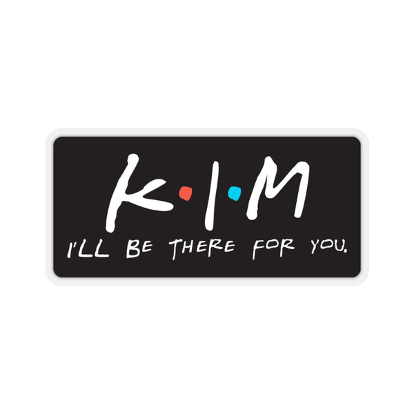 Kim - Kiss Cut Stickers