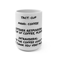 15oz Verbal Operants for Coffee