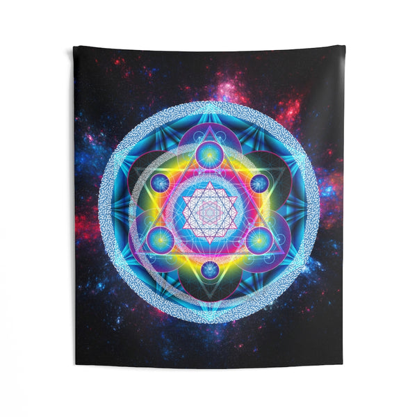 Gate 007: A Prosperity Induction Focal Device - Indoor Wall Tapestries