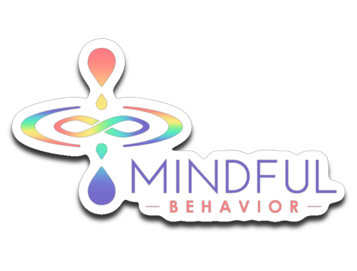 Mindful Behavior Classic  - Die-cut Decal