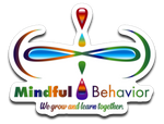 Mindful Behavior - 4x3 Die-cut Decal