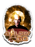 Baldly Go! Decal