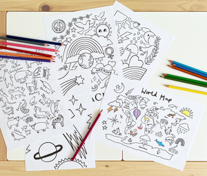 Animal Alphabet Colouring Printable
