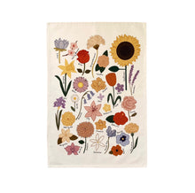 Flower Chart Wall Hanging