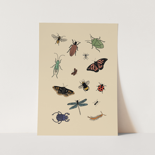 Little Creatures print